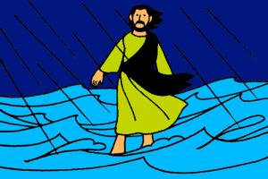 10_Jesus Walks on Water