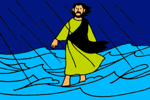 10_Jesus Walks on Water