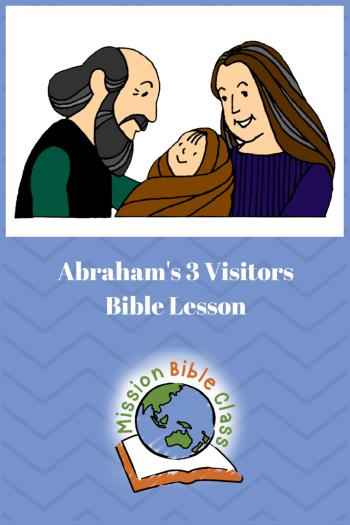 Abraham_s Three Visitors Pin