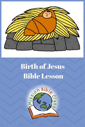 Birth of Jesus Pin