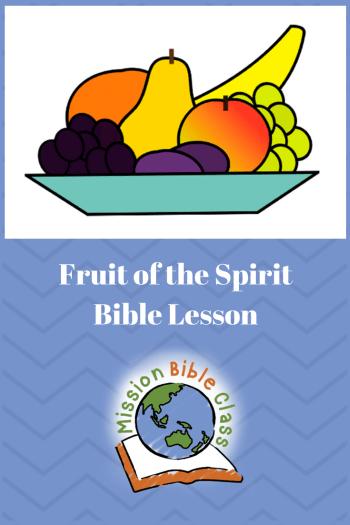 Fruit of the Spirit Pin