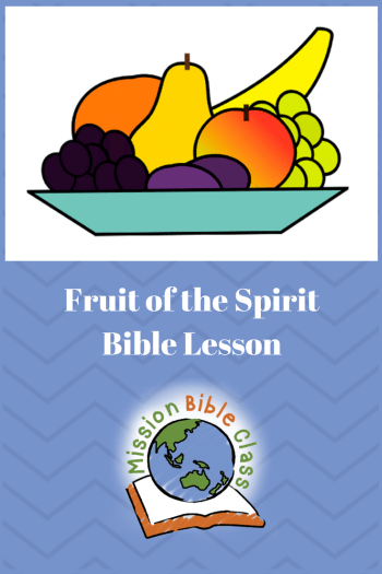 Fruit of the Spirit Pin
