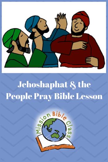 king jehoshaphat lesson for children