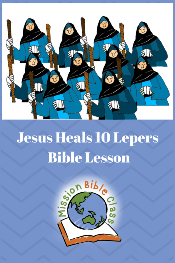 Ten Lepers | ABCJesusLovesMe | 525x350