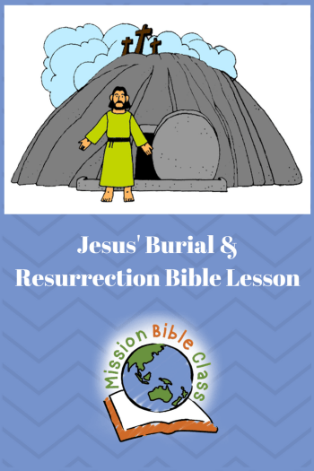 Jesus_ Burial and Resurrection Pin