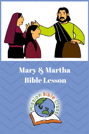 Mary And Martha Mission Bible Class