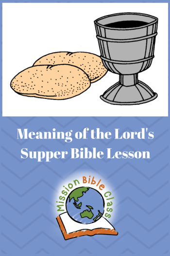 Meaning of the Lord_s Supper Pin