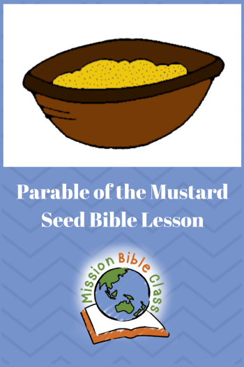 Parable of the Mustard Seed Pin