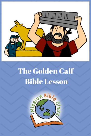 The Golden Calf Pin