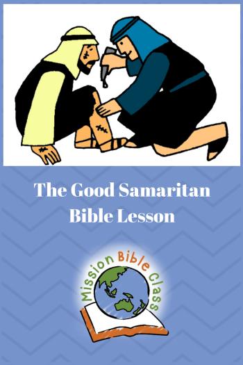 The Good Samaritan Pin