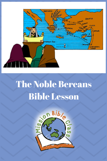 The Noble Bereans Pin