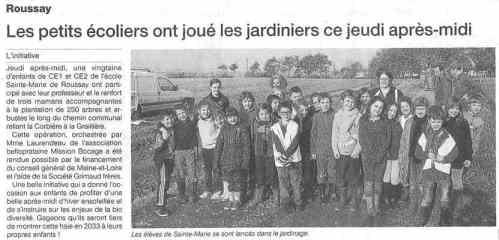 Ouest France. 16 Décembre 2013.
