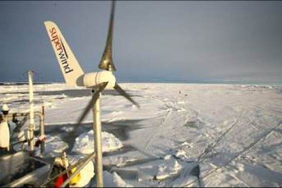 superwind operating in artic conditions remote station