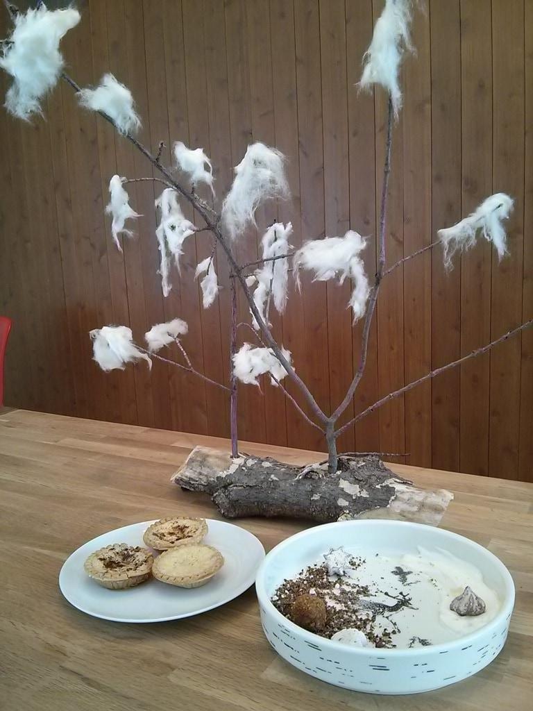 mini tartelette au sucre d'érable