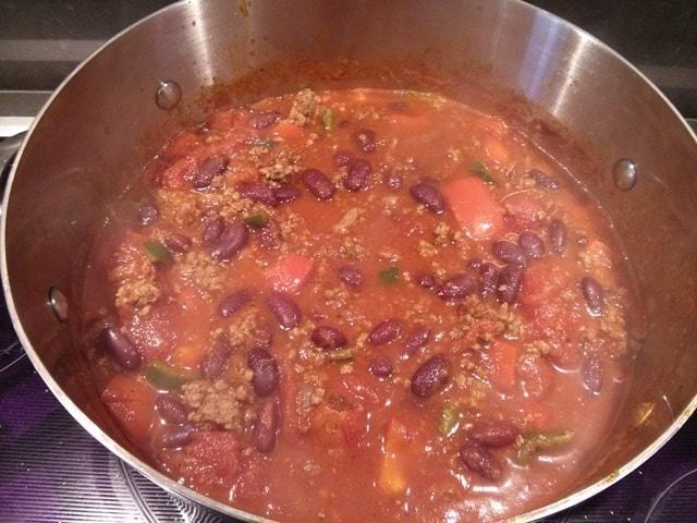 chili cuisson