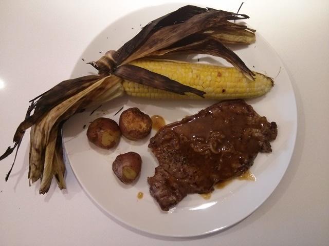 steak aux poivre
