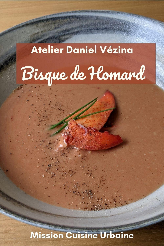 Bisque Homard Atelier Daniel Vézina