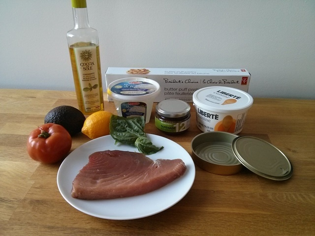 ingrédients thon des Pourcel
