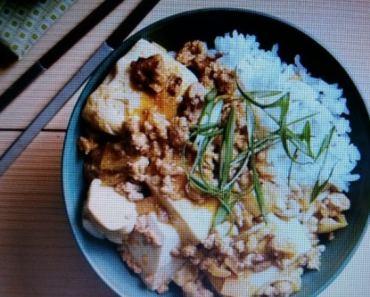 Porc et tofu soyeux à la coréenne