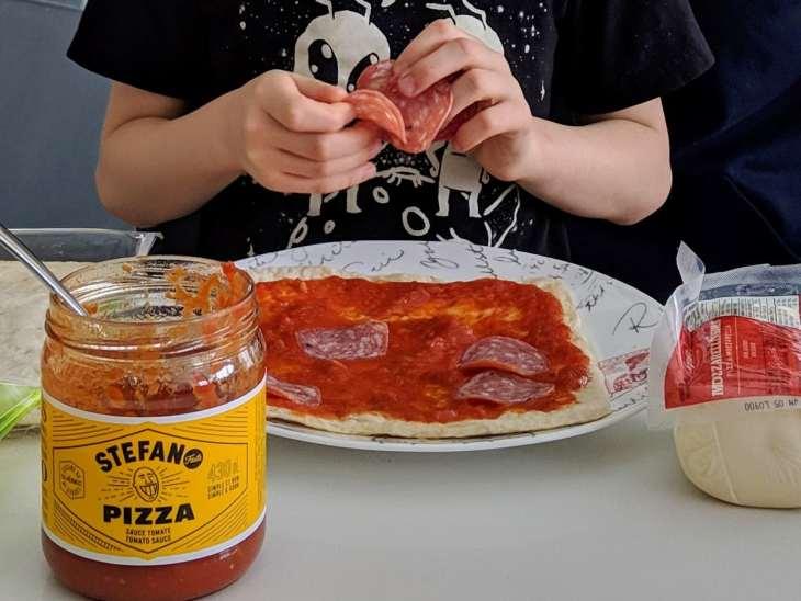 La meilleure sauce à pizza, parole d'Elena
