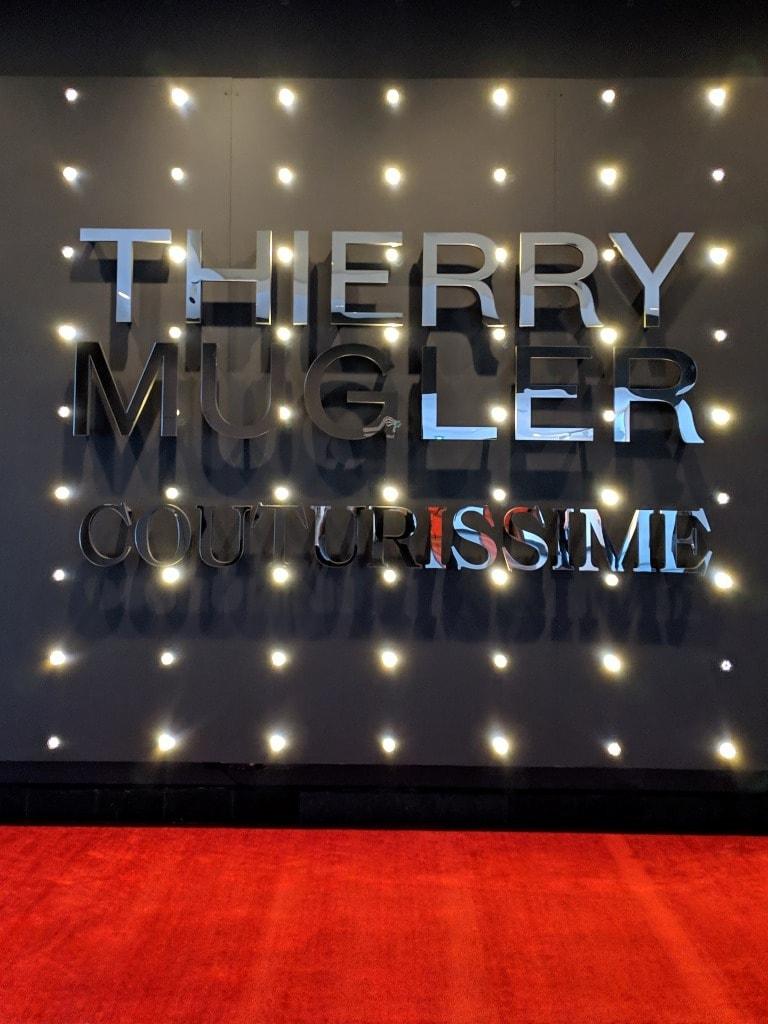 Thierry Mugler Couturissme à Montréal au Musée des Beaux Arts en grande première mondiale.
