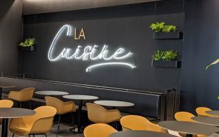 La Cuisine Rockland, une nouvelle aire de restauration gastronomique
