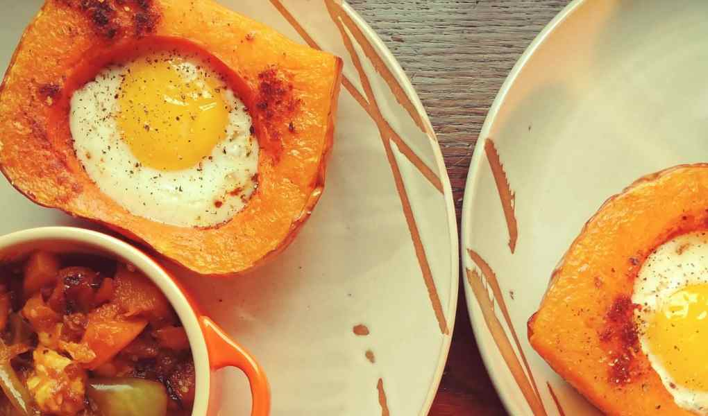 Cocottes oeufs er courges