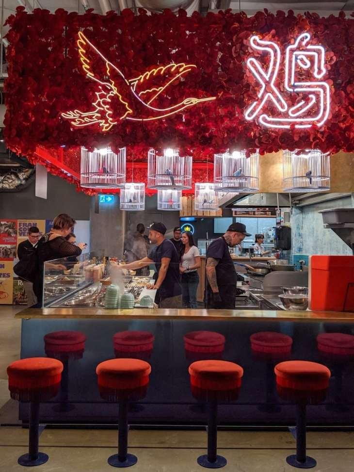 Le kiosque de poulet frit Ho Lee Chix