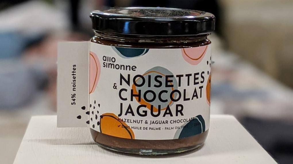 La tartinade Noisettes et chocolat Jaguar