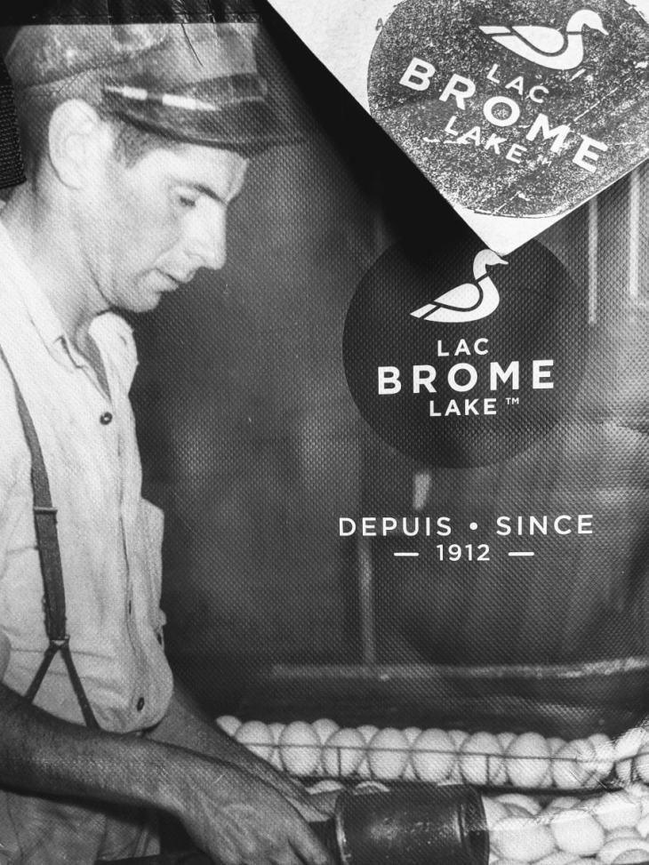 Canard Lac Brome depuis 1912