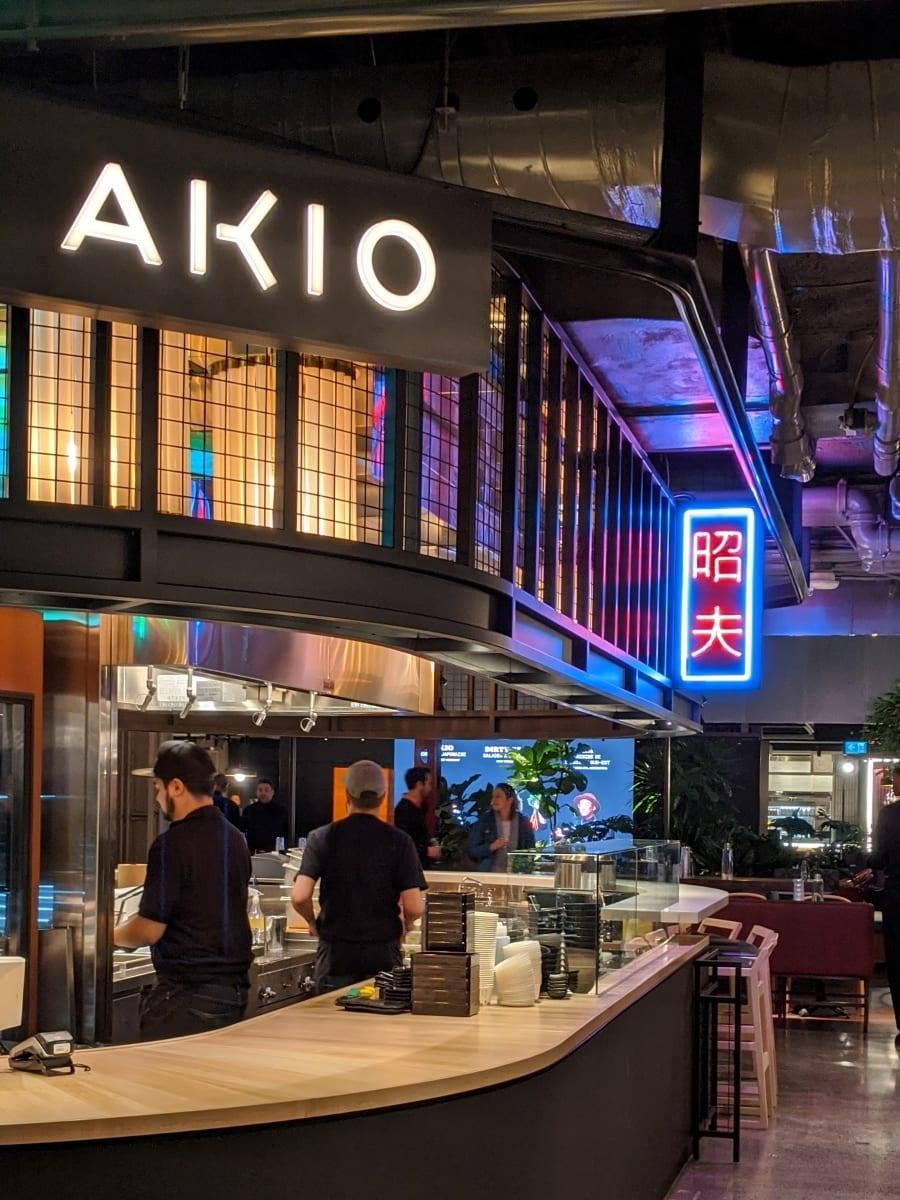 Akio cantine japonaise Antonio Park Le cathcart