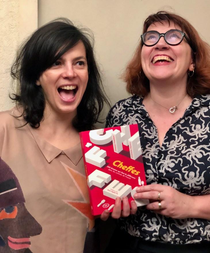 Estérelle Payany et Vérane Frédiani