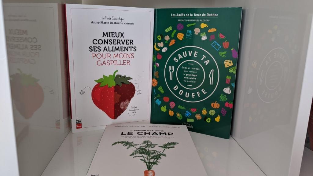 livres contre gaspillage alimentaire