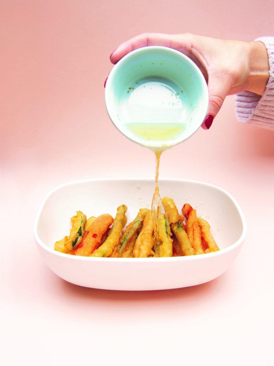 Légumes tempura Geneviève Everell Végé