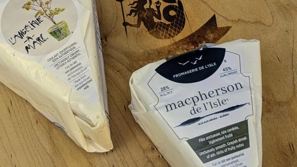 Fromages Angélique à Marc et Mac Pherson de l'Isle