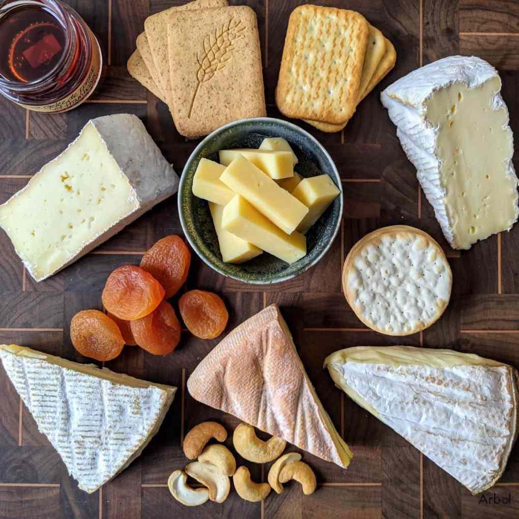 plateau de fromages québécois