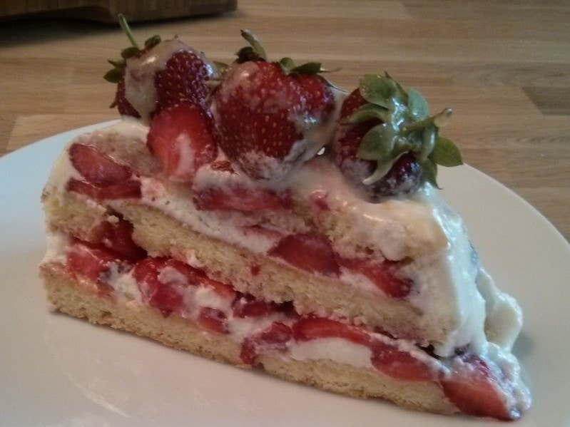 Shortcake aux fraises 2015