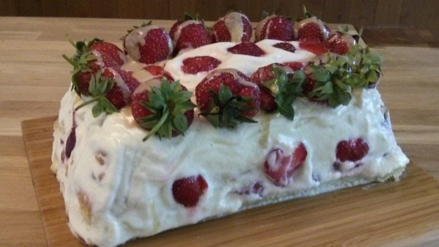 Shortcake aux fraises Mission Cuisine Urbaine version 2014 Atelier Daniel Vézina