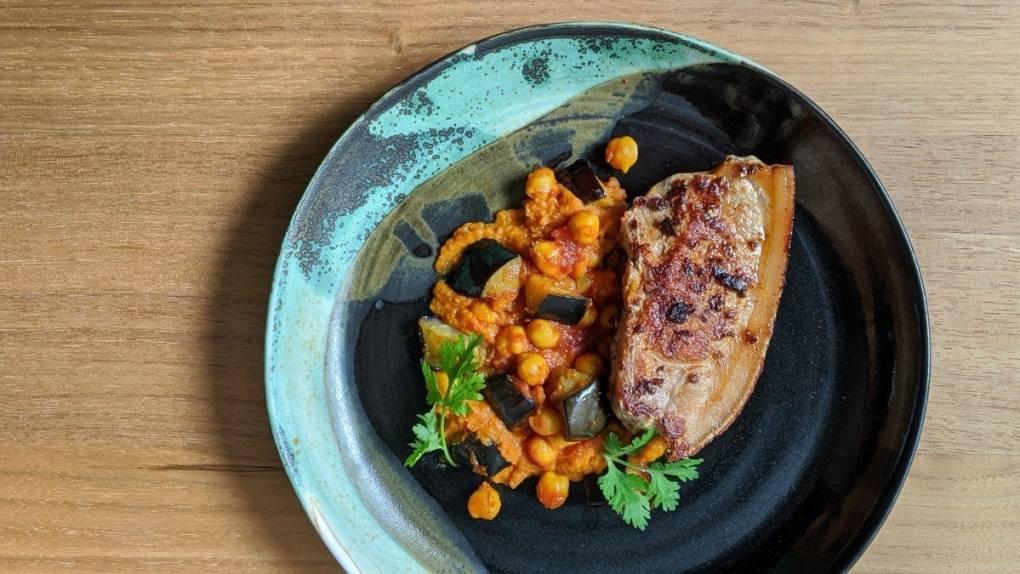 Gaspor et Épurée Carotte et curry pois chiche