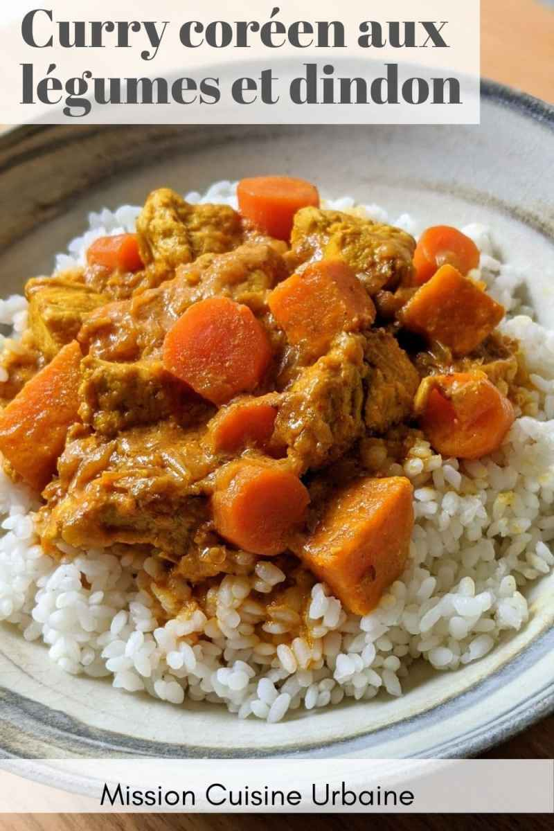 Curry coréen pinterest