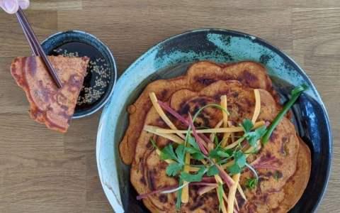 pancakes coréens