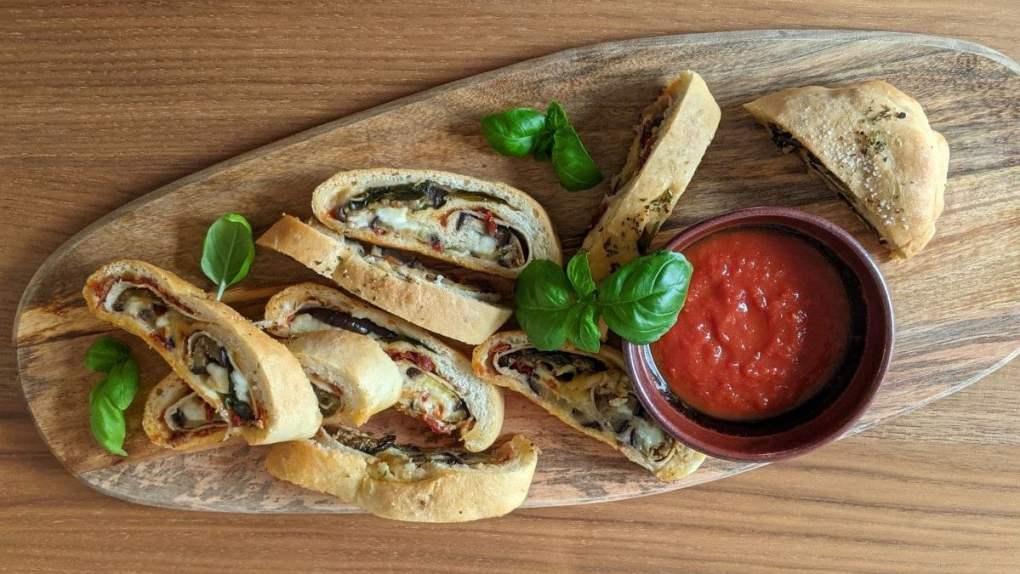 Stromboli Dindon aubergines
