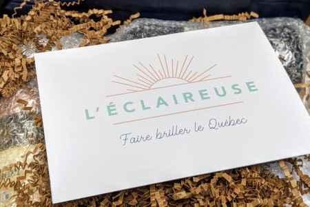 Boites découverte Éclaireuse pour faire briller le Québec