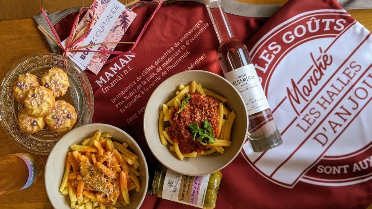 Fête des mères cuisiner italienne marché Halle Anjou