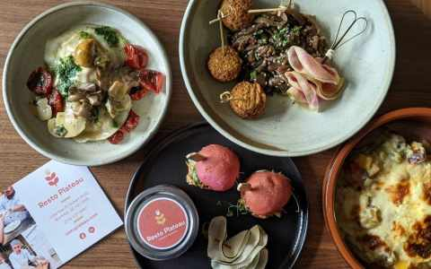 resto plateau menu tapas