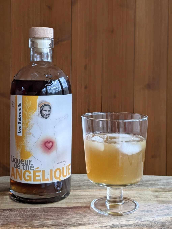 liqueur de thé Angélique