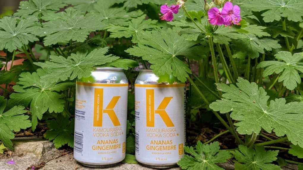 Kamouraska  vodka ananas gingembre