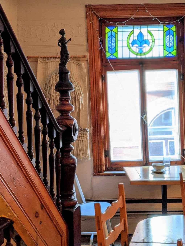 escalier Chez Temporel Vieux-Québec