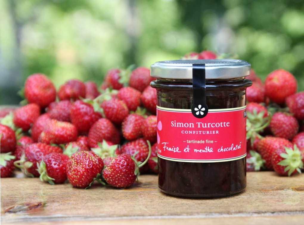 tartinade de fraises