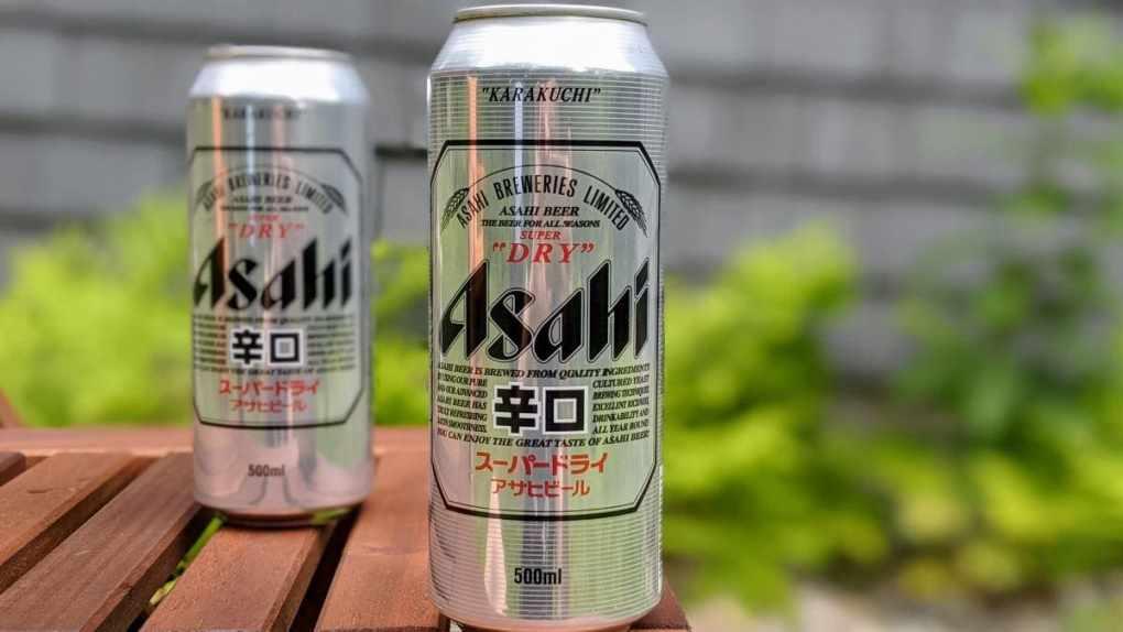 Bière Asahi goût Karakuchi